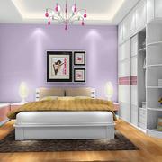 现代化的10平米卧室