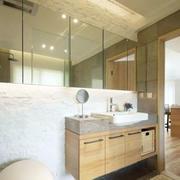 公寓卫生间浴室柜欣赏