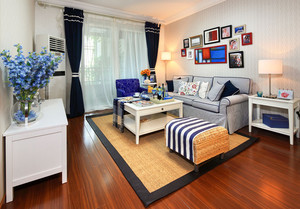 家居客厅整体效果图