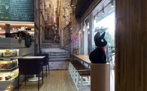 100平米治愈系人文空间图书咖啡馆装修效果图