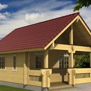 自然小木屋