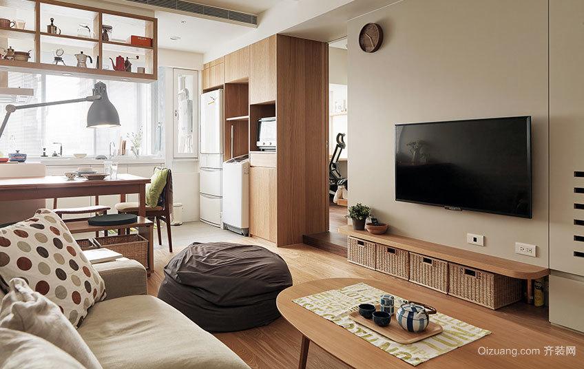 50平米日式老房换新设计装修效果图
