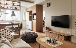 老房客厅电视柜设计