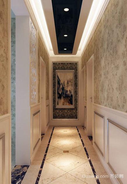 大户型品味优雅的客厅玄关装修效果图鉴赏
