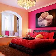 婚房卧室装饰画展示