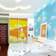 儿童房天空壁纸图