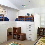 儿童房床的展示
