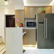 房屋厨房吧台欣赏
