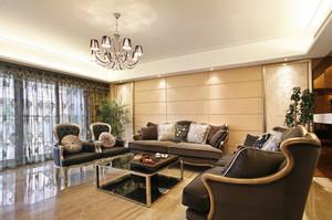128平米经典欧式风格家居装修效果图鉴赏
