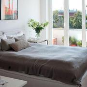 公寓卧室推拉门设计