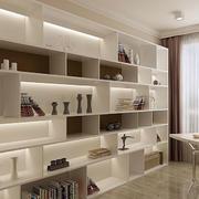 白色现代时尚书架