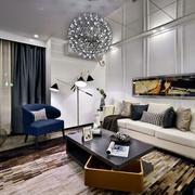 三室两厅客厅整体设计