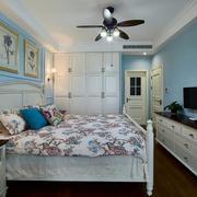 现代人家简欧式卧室