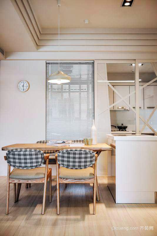 散发禅意的日式风格家居装修效果图