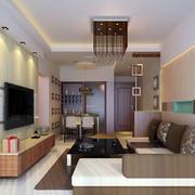 现代简约小户型客厅