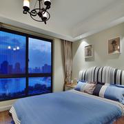 家居卧室窗户展示
