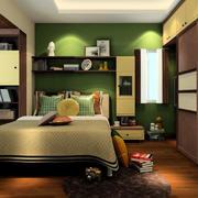 卧室绿色壁纸图