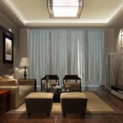 客厅现代时尚吊顶