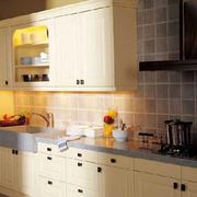 一字型厨房橱柜图