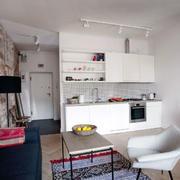 公寓粗犷沙发背景墙