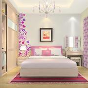 粉色系列的家居卧室