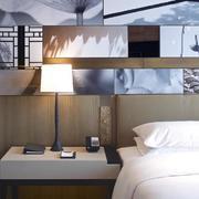 酒店床头柜装饰