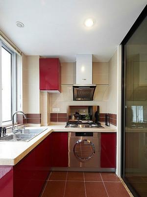 2015意境优美的现代阳台厨房装修效果图大全