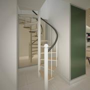 旋转铁艺楼梯图片