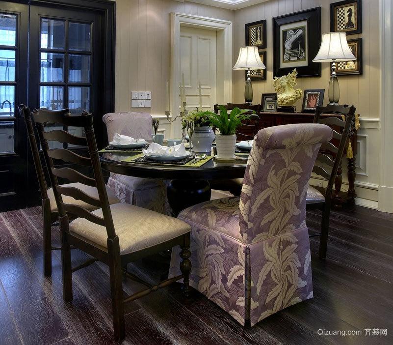 25万造价美式风格两室一厅房屋装修效果图