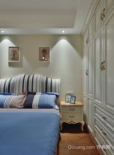 大户型蓝色情调地中海风格家居装修效果图鉴赏