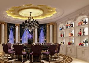 2015高贵典雅的欧式酒柜装修效果图大全