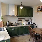 家居美式厨房橱柜欣赏