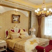简欧式卧室图
