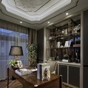 别墅现代奢华书房