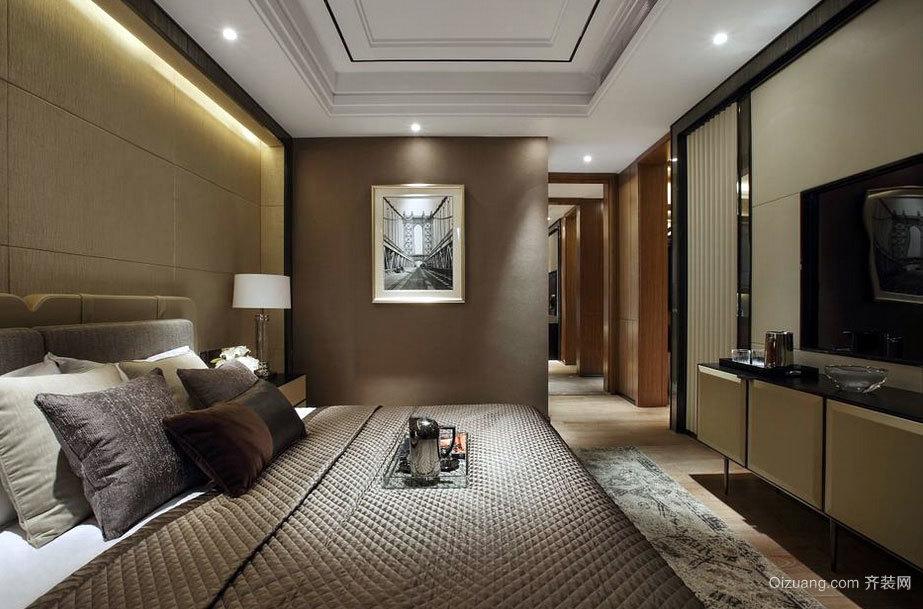 2015现代化50平米大户型卧室装修效果图
