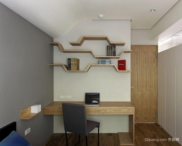 简约随性各类书房装修设计效果图