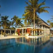 奢华度假村游泳馆