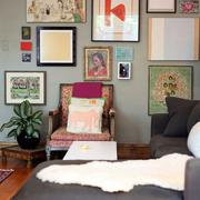 家居客厅沙发展示