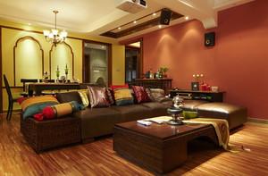 家居美式客厅沙发