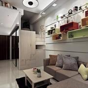 小户型公寓沙发背景墙