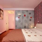 婚房红色喜庆卧室