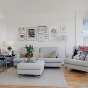 家居客厅沙发摆放图