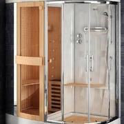 让您放松身体的淋浴房