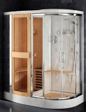 贵族味儿十足的欧式整体淋浴房装修效果图片