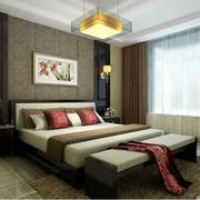 卧室新中式风格效果图