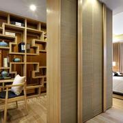 120平米房屋书房隔断设计