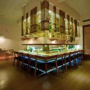 餐厅简约日式吧台设计