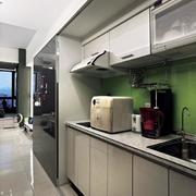 小户型公寓厨房展示
