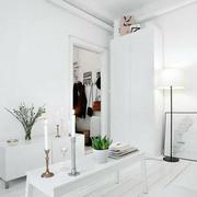 房屋白色简约客厅图