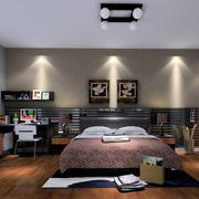 卧室灯光布置图